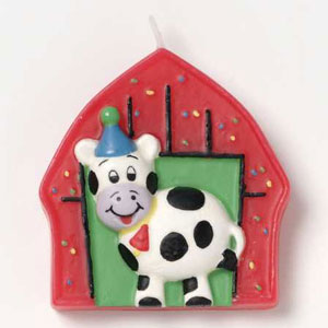 Barnyard Bash Molded Candle