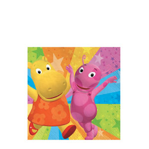 Backyardigans Beverage Napkins- 16ct