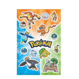 Pokemon Stickers- 2ct
