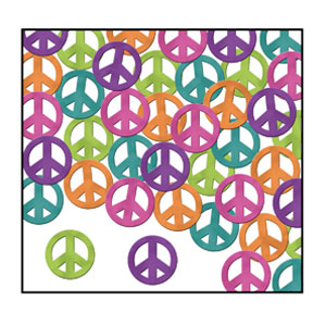 Peace Sign Confetti - 1oz
