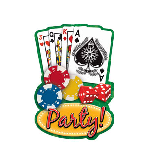 Casino Postcard Invitations- 20ct