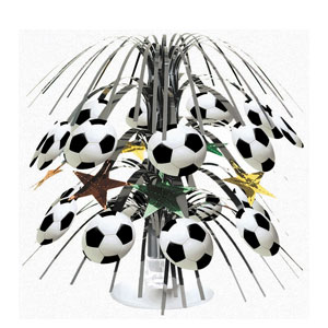 Championship Soccer Mini Cascade Centerpiece- 8in
