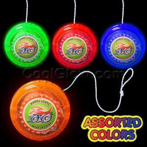LED Yo-Yos - Assorted