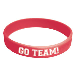 Go Team Wristband - Red