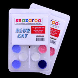 Blue Cat Palette Face Paint Kit