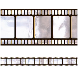 Hollywood Metallic Film Border Roll- 40ft