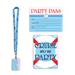 Cruise Ship Party Pass- 25in