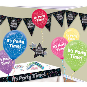 Time To Party Decorating Kit- 11pc