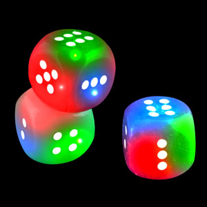 LED Dice - Assorted