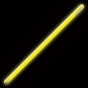 16 Inch Glow Stick - Yellow