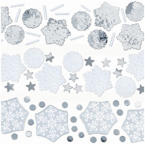 Snowflake Value Mix Confetti