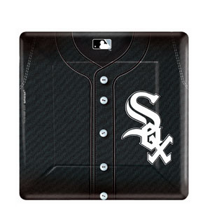 Chicago White Sox Square 10 Inch Plates- 18ct