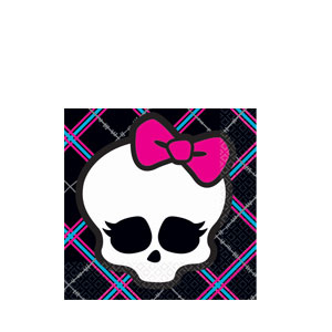 Monster High Beverage Napkins- 16ct
