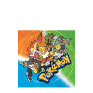 Pokemon Beverage Napkins- 16ct