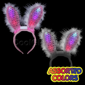 LED Bunny Ears Supreme - Assorted
