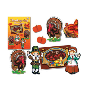 Thanksgiving Decorama - 8ct