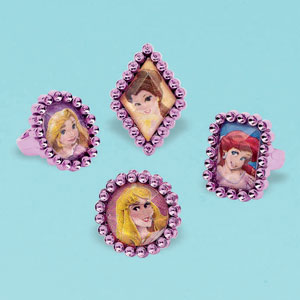 Disney Princess Jewel Rings- 18ct