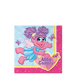 Abby Cadabby Beverage Napkins- 16ct