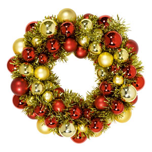 Ornament Hangtag Wreath- 13 Inch