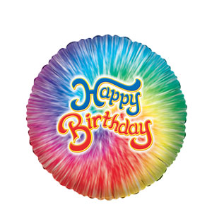 Prism Birthday Balloon- 18in