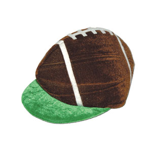 Plush Football Hat