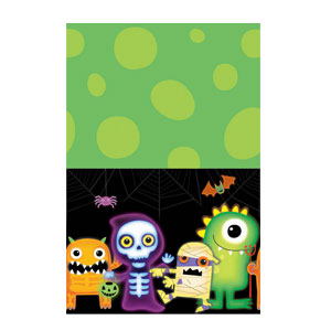Boo Crew Plastic Table cover- 102in