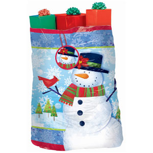 Frosty Friends Giant Gift Sack- 56 Inch
