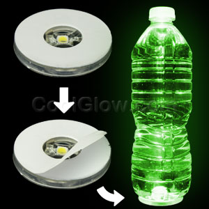 LED Motion Activated Bottle Illuminator - Green