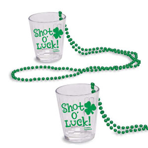 Shot O Luck Beads with Shot Glass