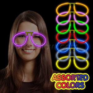 Glow Eye Glasses - Assorted