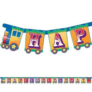Big Top Birthday Large Jointed Banner