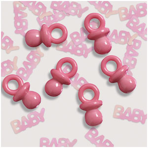 It's A Girl Pacifiers