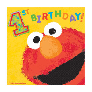 Elmo Luncheon Napkins