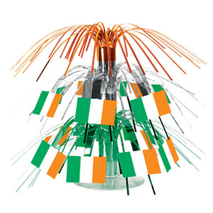 Irish Flag Mini Cascade Centerpiece- 7in