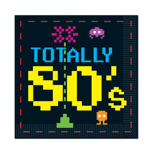Retro Arcade Napkins - 16ct