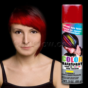 Color Hairspray - Red
