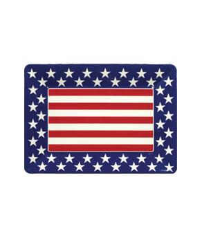 All American 14 Inch Plastic Tray