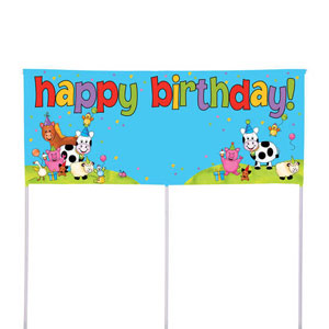 Barnyard Bash Fill-In Yard Banner
