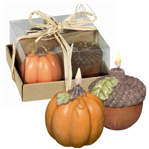 Harvest Candles- 4ct
