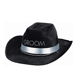 Groom-To-Be Cowboy Hat- 13in