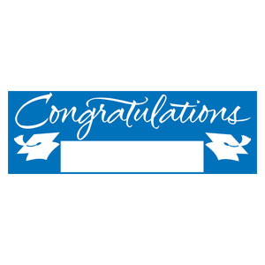 Grad Fill In Banner - Blue