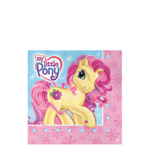 My Little Pony Beverage Napkins- 16ct