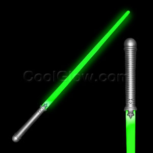 Fun Central I516 LED Light Up Light Saber - Green