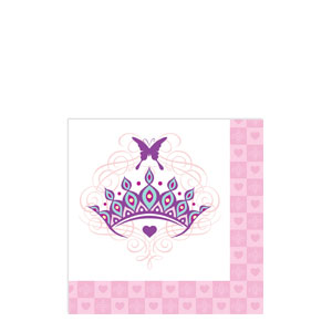 Her Highness Beverage Napkins- 16ct