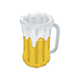 Inflatable Beer Mug Cooler - 18n x 27in