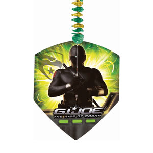 GI Joe Dangling Cutouts- 3ct
