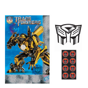 Transformers 3 Party Game- 3pc