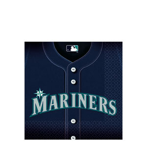 Seattle Mariners Luncheon Napkins- 36ct