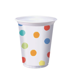 Sunshine Icons Printed Plastic 16 oz. Cups- 8ct