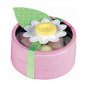 Tin Baby Shower Favor - Pink
